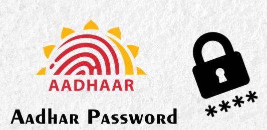 Aadhar Password