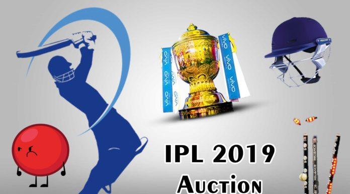 IPL 2019 Auction