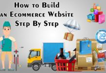 How to Build an Ecommerce Website Step By Step
