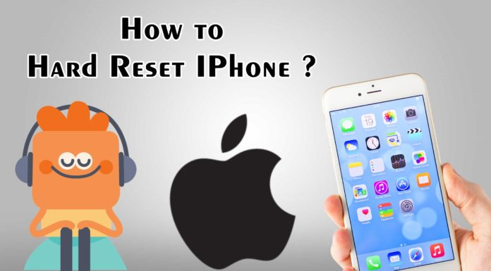 How to Hard Reset IPhone ?