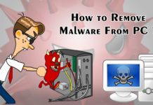 How to Remove Malware From PC ?