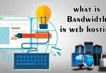 what is bandwidth in web hosting