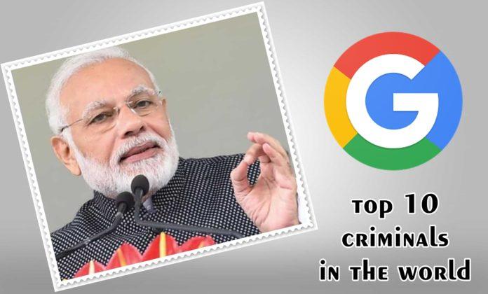 Top 10 Criminals in The World Narendra modi