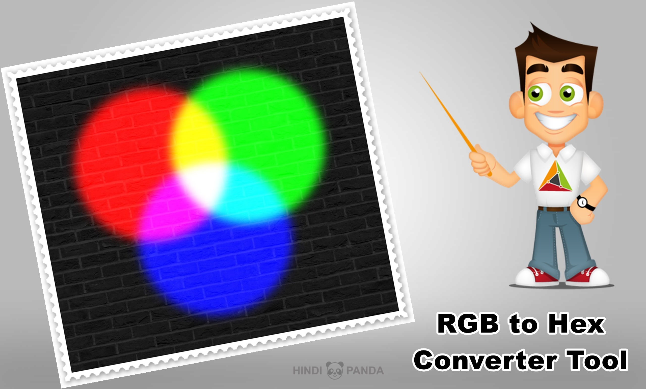Convert color values using RGB to hex converter tool