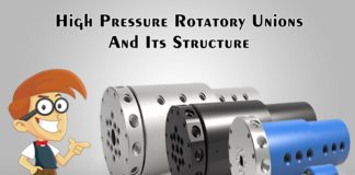 High Pressure Rotatory Unions And Its Structure