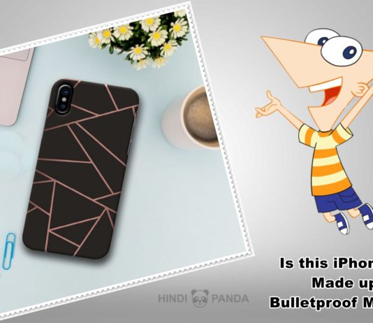 Is this iPhone Case Made up of Bulletproof Material
