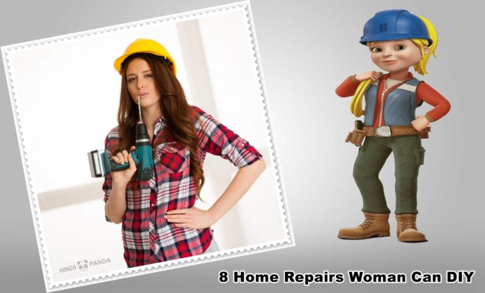 8 Home Repairs Woman Can DIY