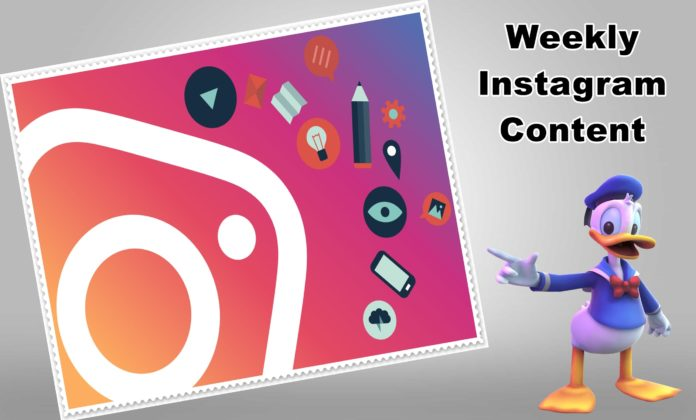 How to Create Your Weekly Instagram Content
