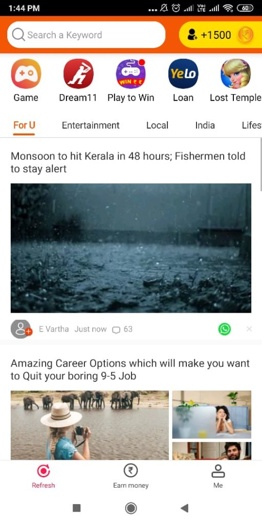 Best Earning App in India RozDhan App
