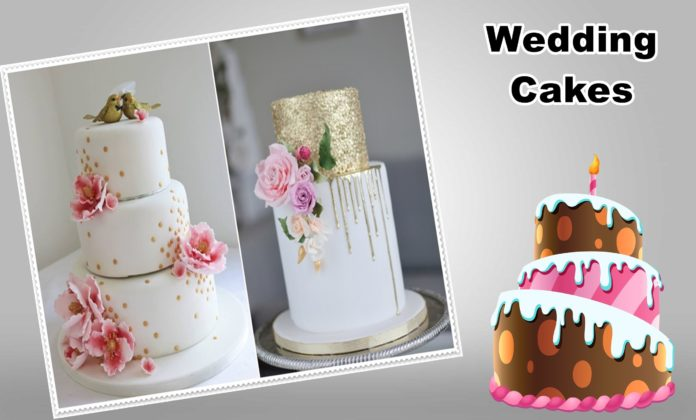 How to Decorate Wedding Cakes With Edible Flowers