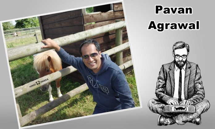 Pavan Agrawal in England UK