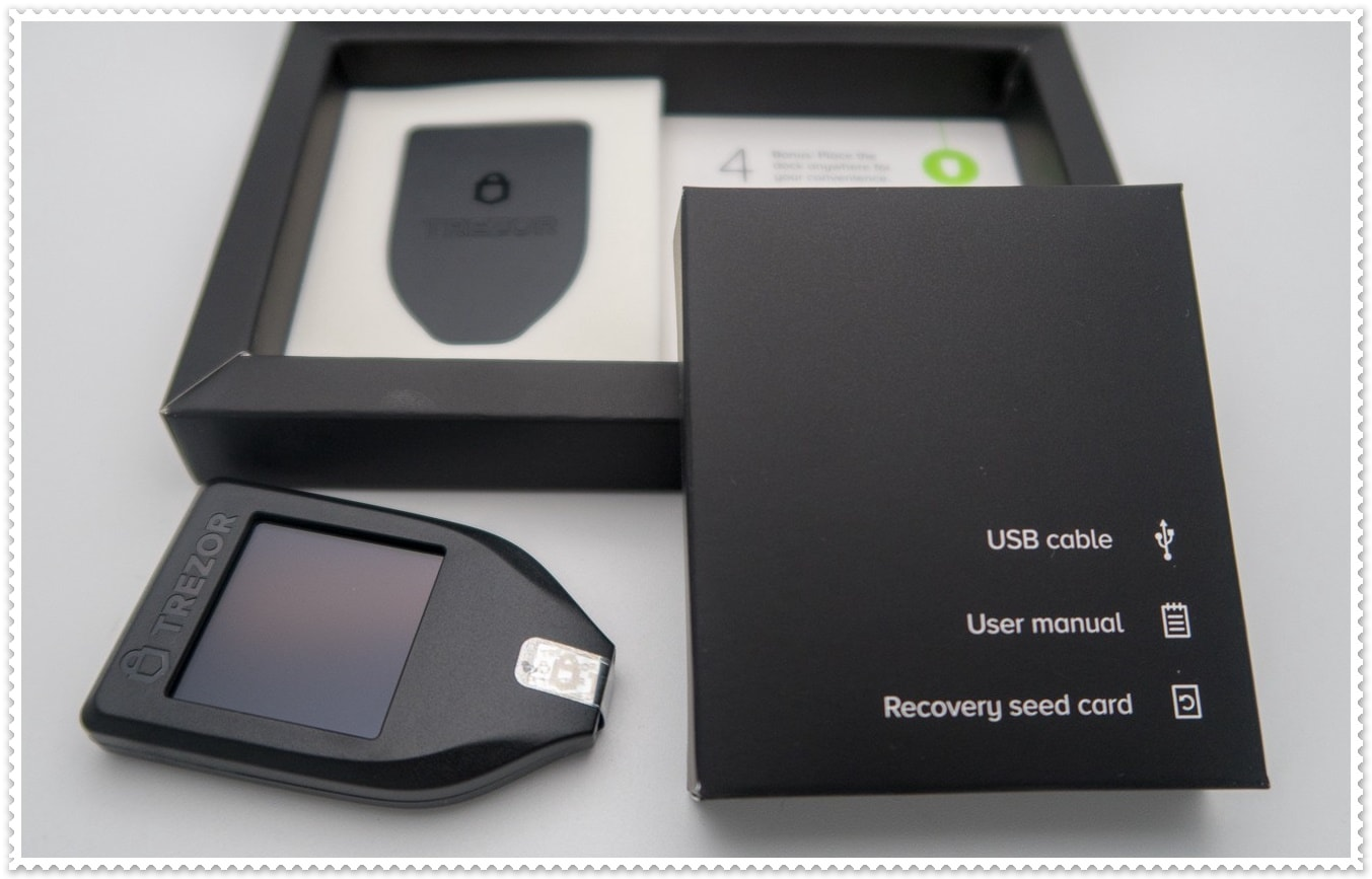 Trezor T Review Design & Unboxing Experience