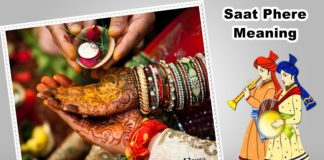 What Is The Saat Phere Meaning In Hindu Marriage Wedding Quora