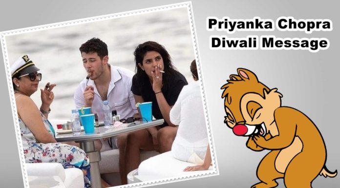 priyanka chopra diwali message