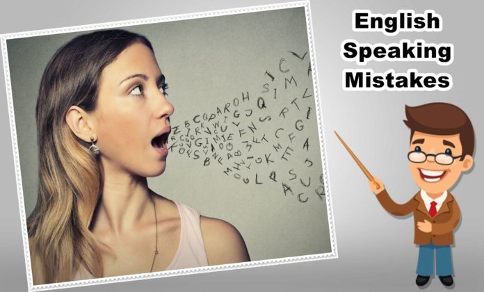 6 Steps to avoid English Speaking Mistakes
