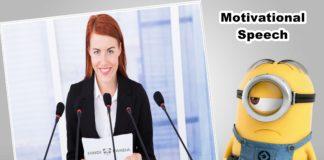 7 Helpful Tips for Writing a Motivational Speech