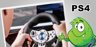 Best Affordable PS4 Steering Wheels