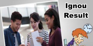 Indira Gandhi National Open University | IGNOU Result 2019