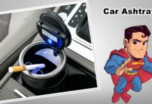 HOW TO CLEAN A CAR ASHTRAY