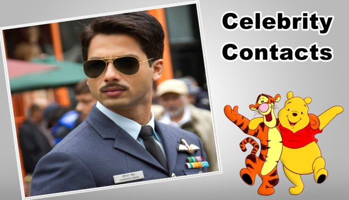 How to Meet Shahid Kapoor : Celebrity Contacts