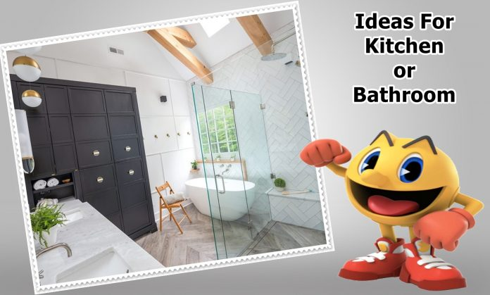 Ideas For Your Kitchen or Bathroom