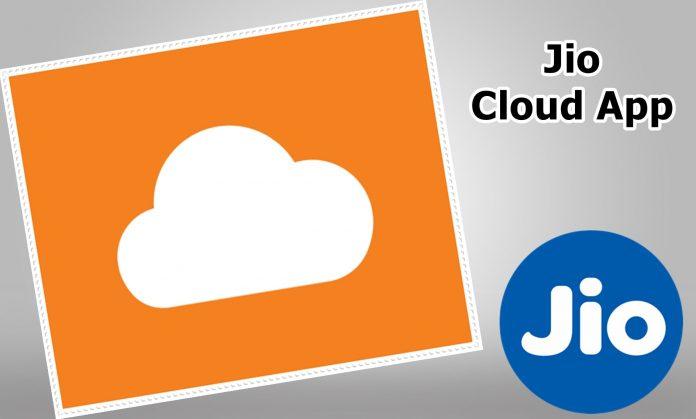 Jio Cloud App