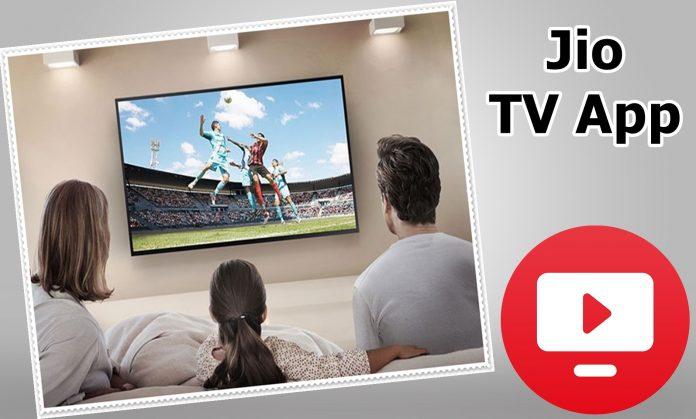 Jio TV App
