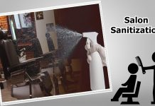 salon sanitization
